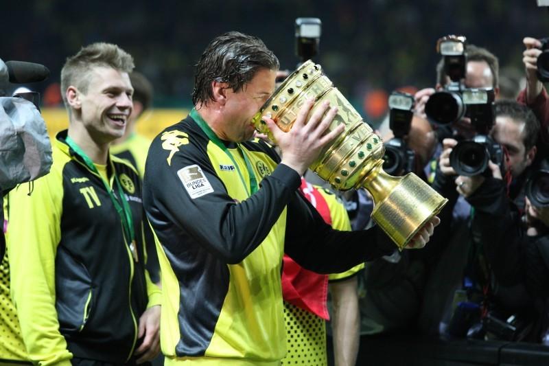 Der Höhepunkt: Double-Sieg 2012