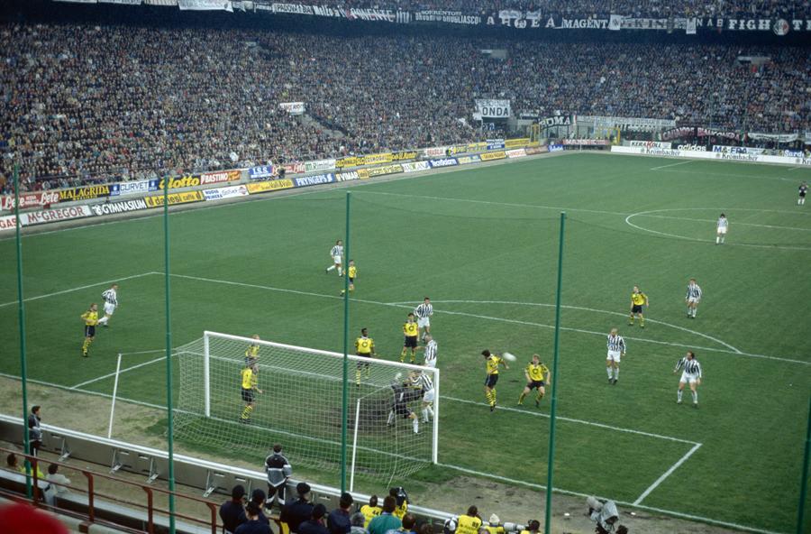 Der BVB gegen Juventus Turin in Mailand