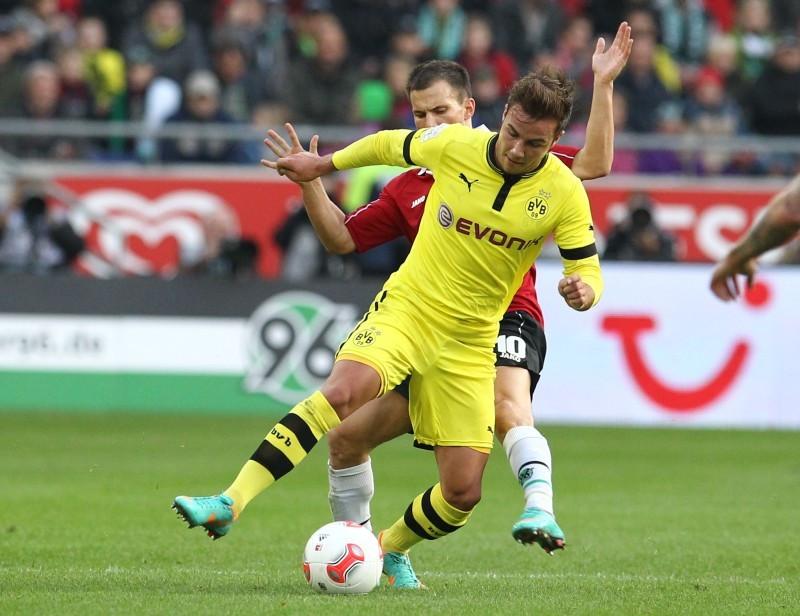Mario Götze dribbelt bald wieder im BVB-Trikot