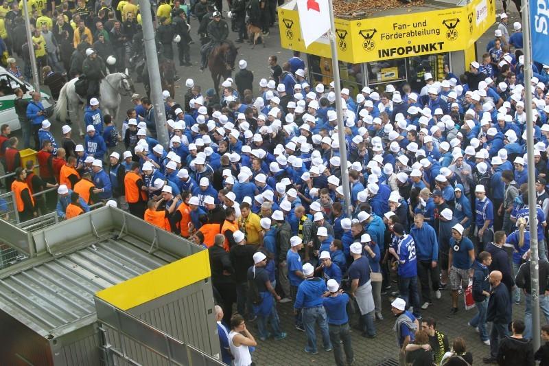 Derby am 20.10.2012 im Dortmunder Westfalenstadion