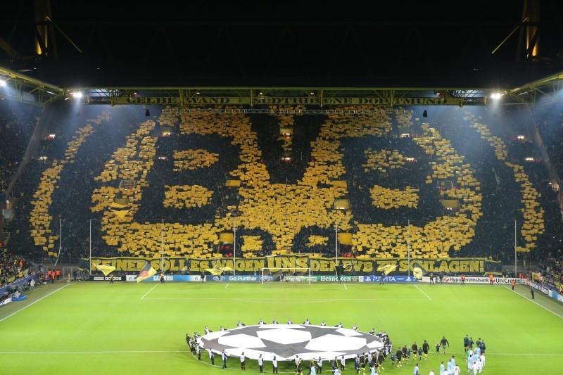 Manchester City, Westfalenstadion Dortmund, Champions