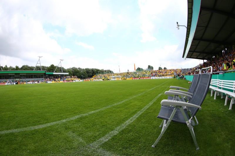Bild aus dem Erstrundenspiel 2013 in Wilhelmshaven