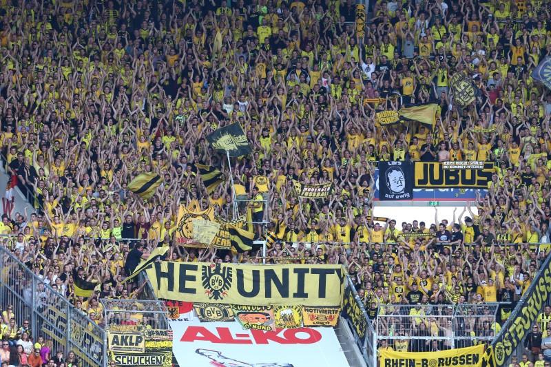 BVB-Fans in Augsburg