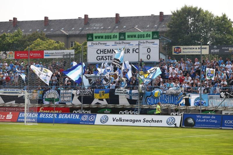 Der BVB II war unlängst noch in Chemnitz