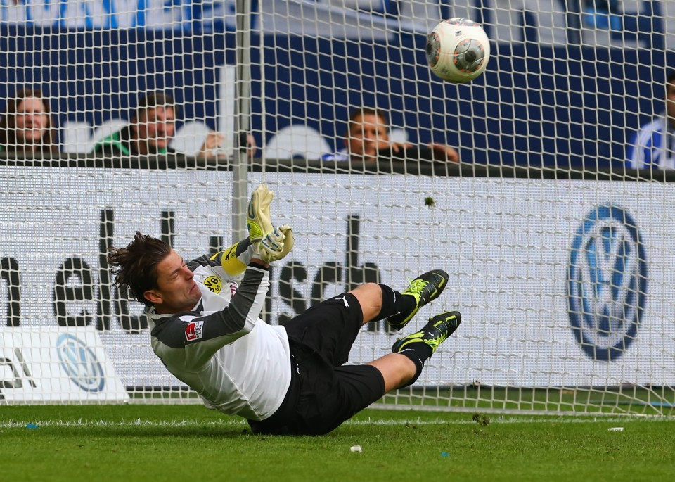 Weidenfeller saves