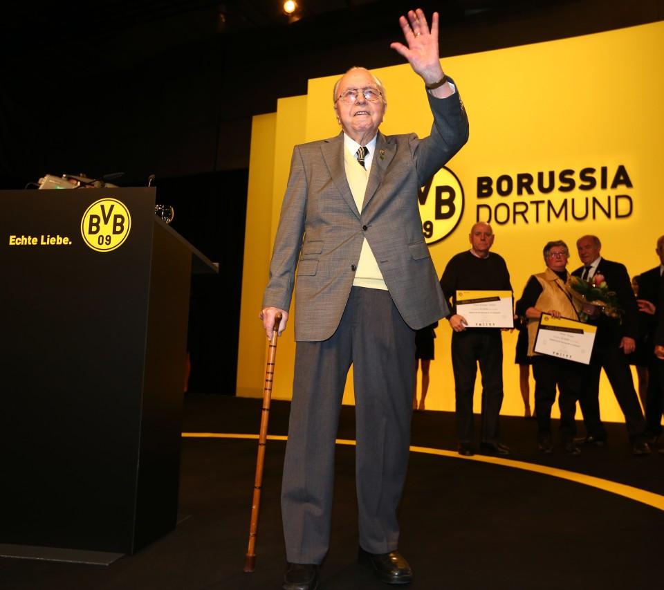 Alois Scheffler auf der Jahreshauptversammlung 2013