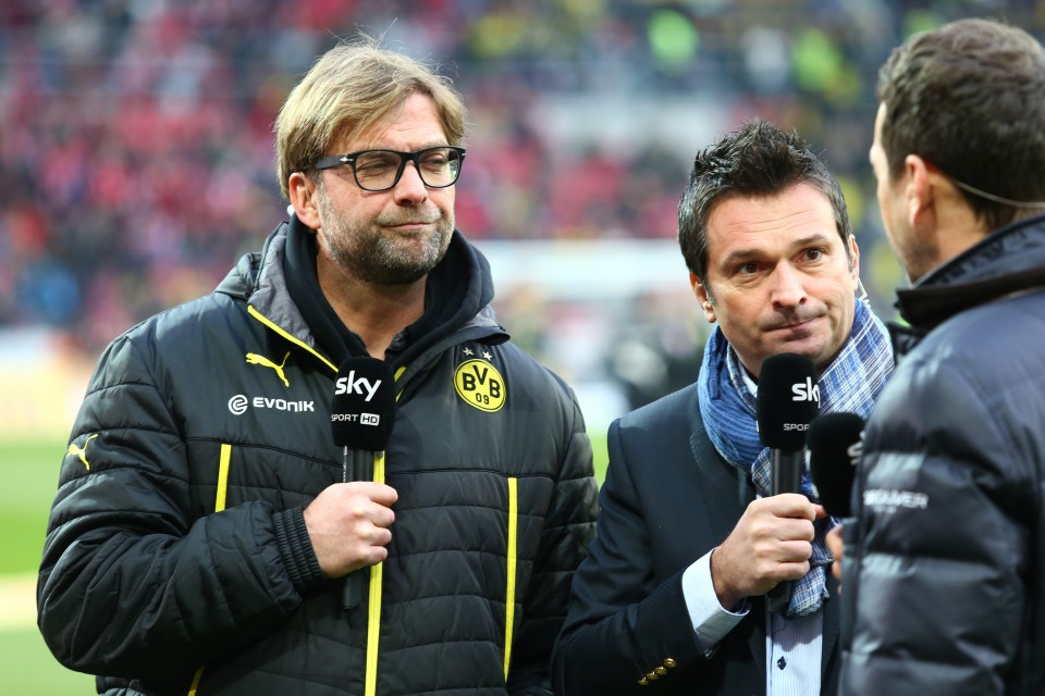 Klopp und Heidel Interview Sky