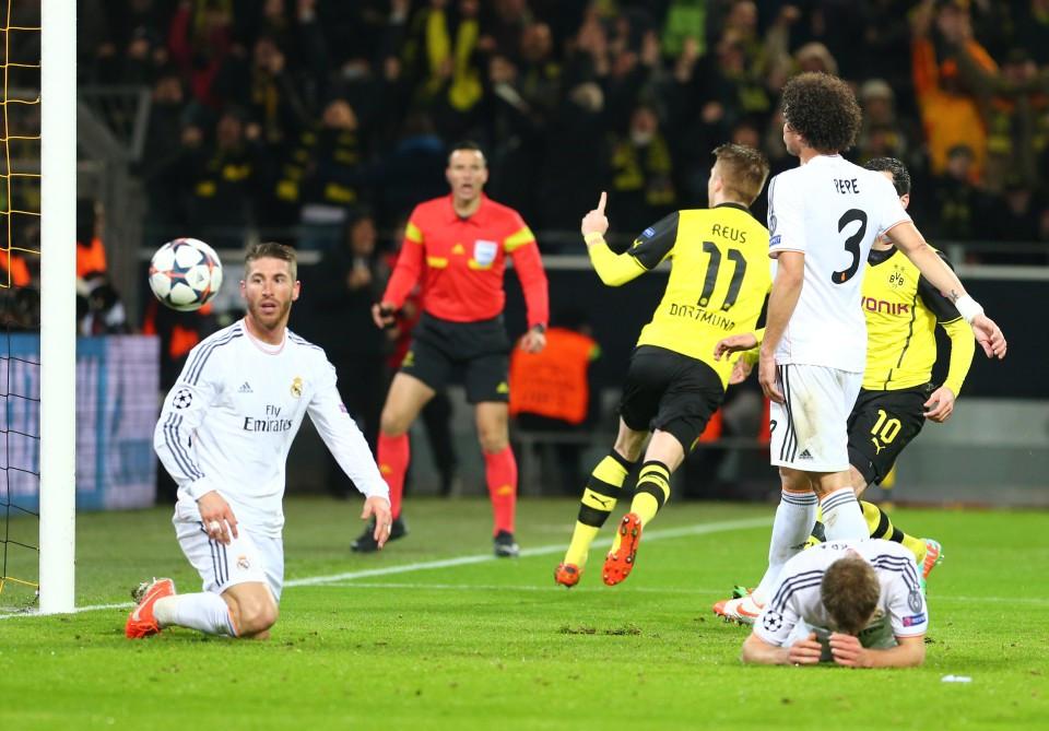 KO-Phase 2014: Reus trifft im Heimspiel gegen Madrid und der BVB scheitert knapp.