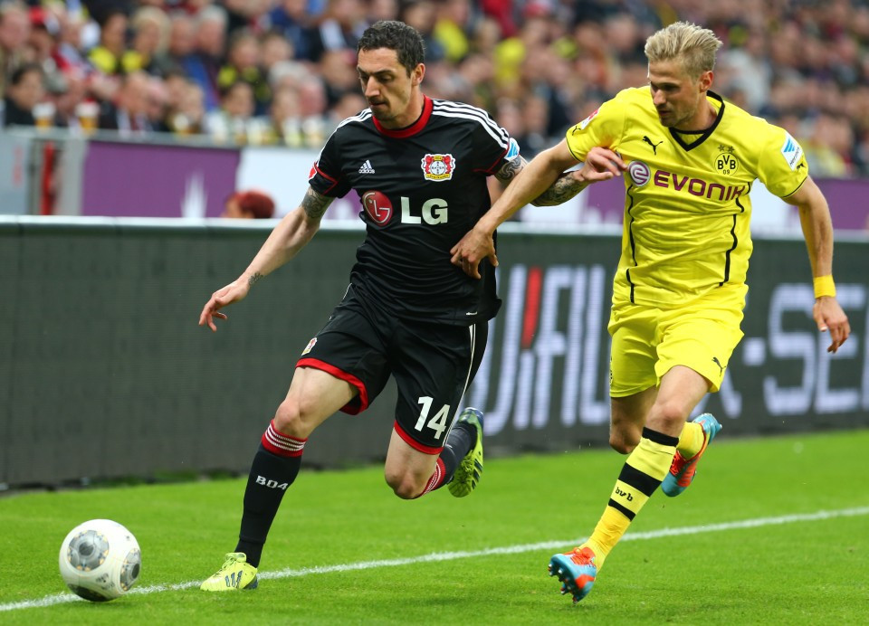 Gegen Leverkusen schoss Olli sein erstes Tor für den BVB