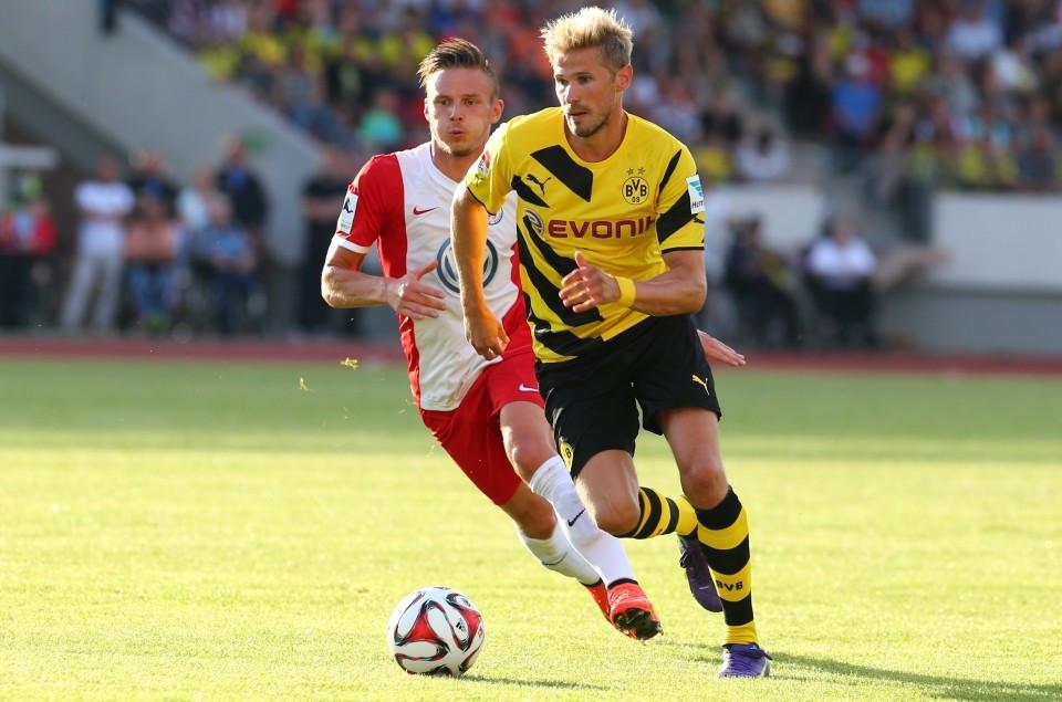 Oliver Kirch im Testspiel gegen Hessen Kassel