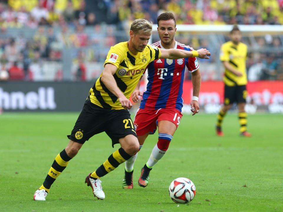 Im Supercup gegen den FC Bayern
