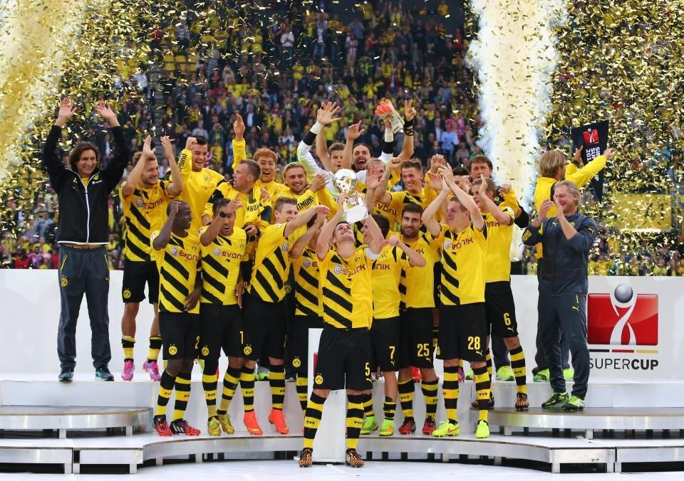 Zuletzt konnte der BVB den Supercup in der Saison 2014/15 gewinnen