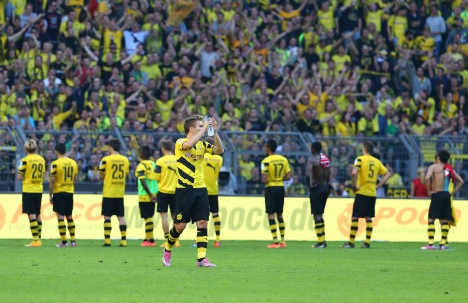 Applaus trotz schwacher Leistung - Heimspiel gegen den HSV