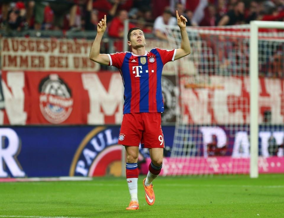 Lewandowski als Torschütze gegen den BVB