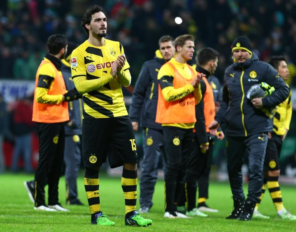 Hummels dankt den Fans für Unterstützung in Bremen