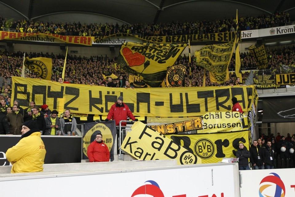 Soli-Spruchband in Stuttgart