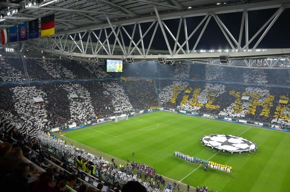 Hinspiel Juventus Stadium