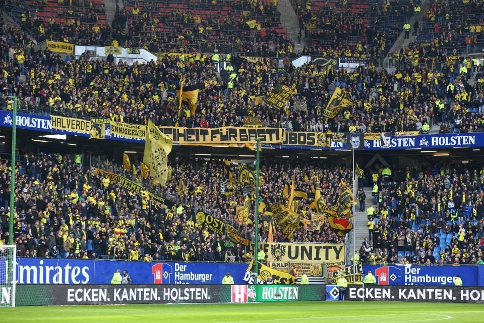 ber 7000 BVB Anhänger werden in Hamburg erwartet