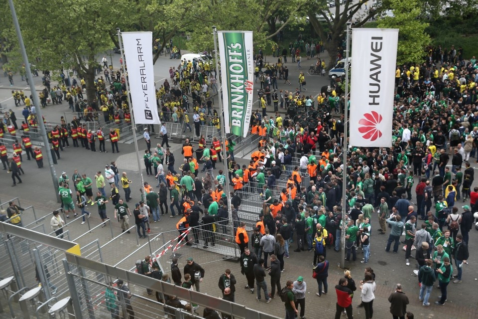 Heimspiel gegen Werder Bremen