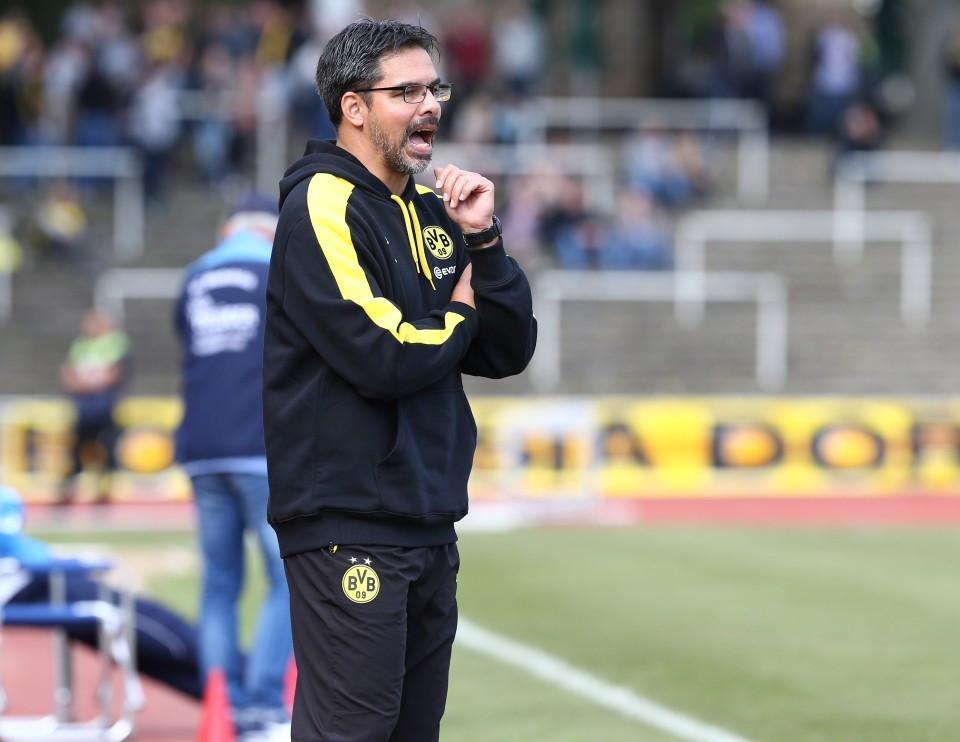 Angefressen nach dem Spiel gegen SC Wiedenbrück: David Wagner