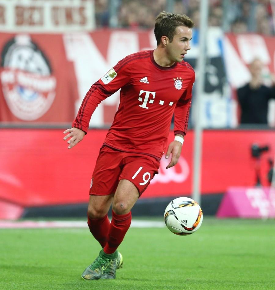 Götze bei Bayern