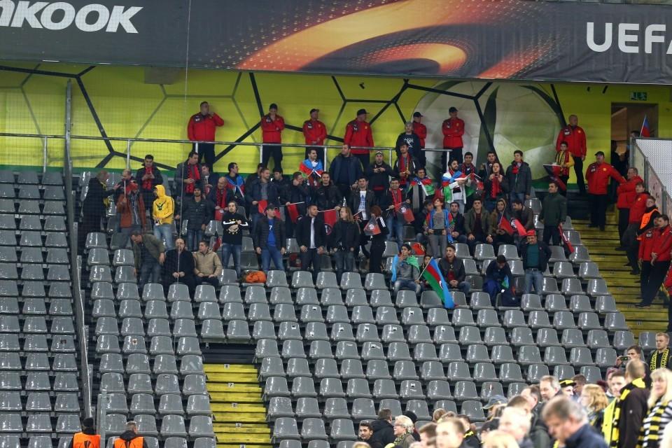 PAOK wird wohl ein paar mehr Fans mitbringen als Qäbälä.