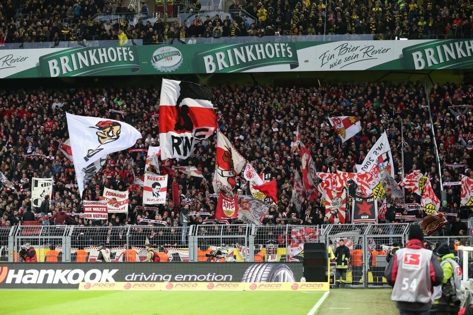 So zahlreich und bunt werden die VfB-Fans nicht in Bremen erscheinen