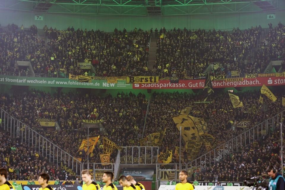 Auch heute werden wieder rund 6.000 Dortmunder den BVB unterstützen