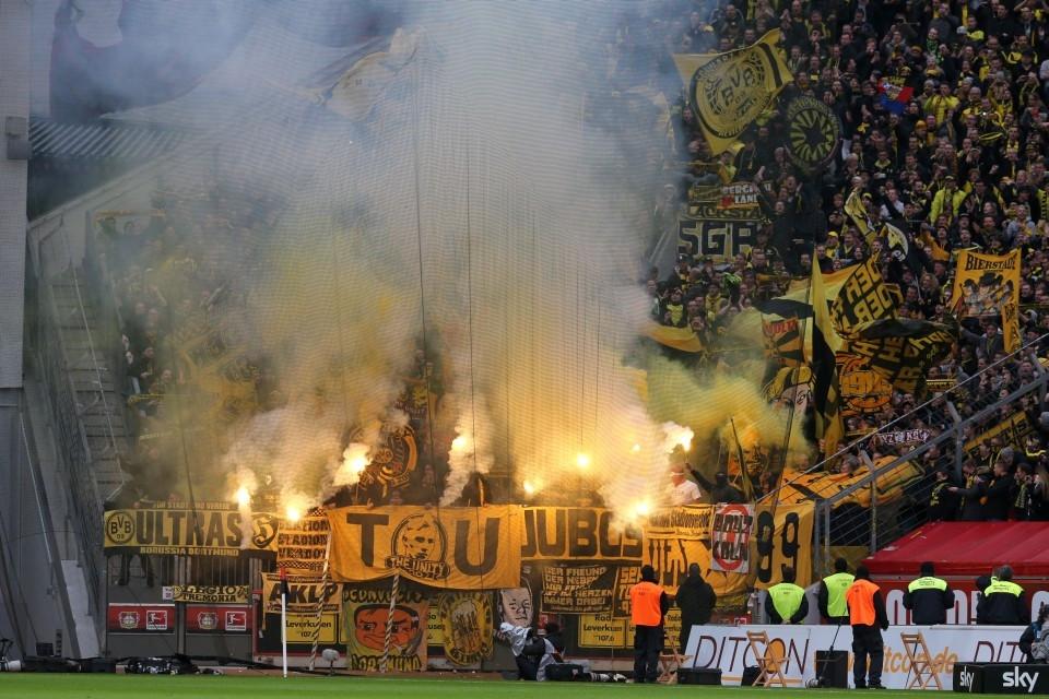 Feuer und Flamme - für den BVB?