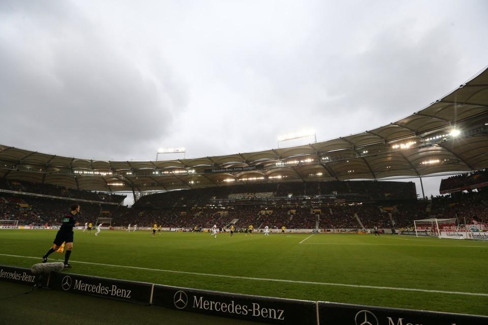 Das Neckarstadion dürfen 298 BVB-Fans am Freitag nicht betreten