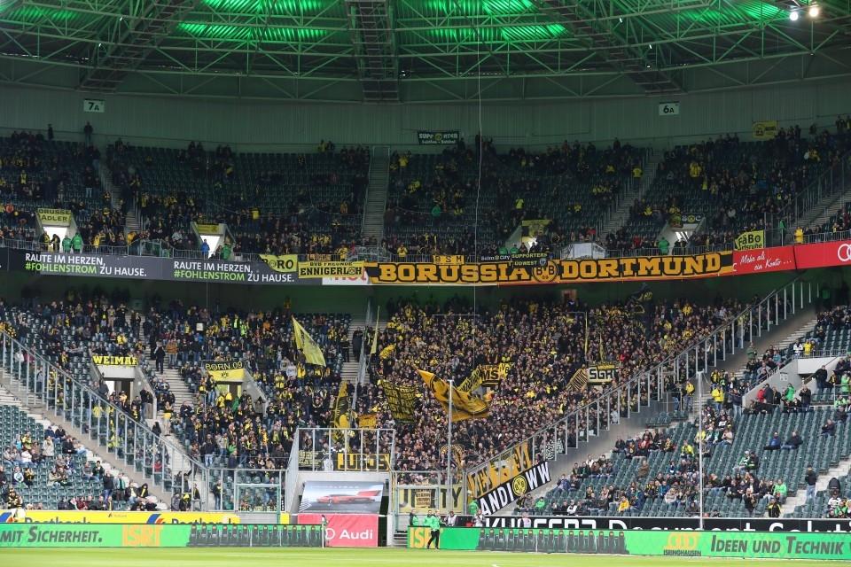 1. Bundesliga, Fußball, 30. Spieltag, Auswärtssieg, VfL, 1900, Borussia, Mönchengladbach, Rückrunde, Dortmund, BVB, 09, Saison 201617 - Borussia Mönchengladbach - BVB
