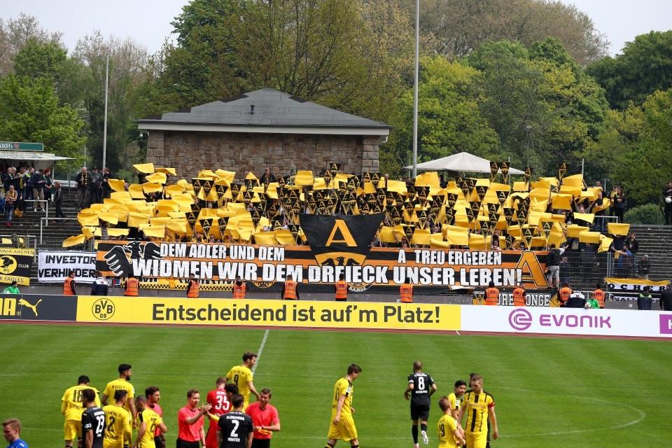 II, U23, Zweitvertretung, Zwote, TSV, Alemannia, Aachen, Regionalliga, West, Unentschieden, torlos, 32. Spieltag, Rückrunde, Fußball, Borussia, Dortmund, BVB, 09, Saison 201617 - BVB II - Alemannia Aachen