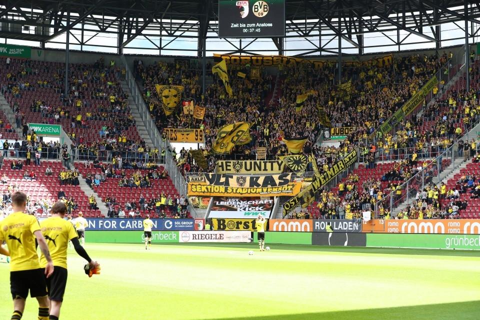 33. Spieltag, 1. Bundesliga, FCA, FC, Augsburg, 1907, Unentschieden, Rückrunde, Fußball, Borussia, Dortmund, BVB, 09, Saison 201617 - FC Augsburg - BVB