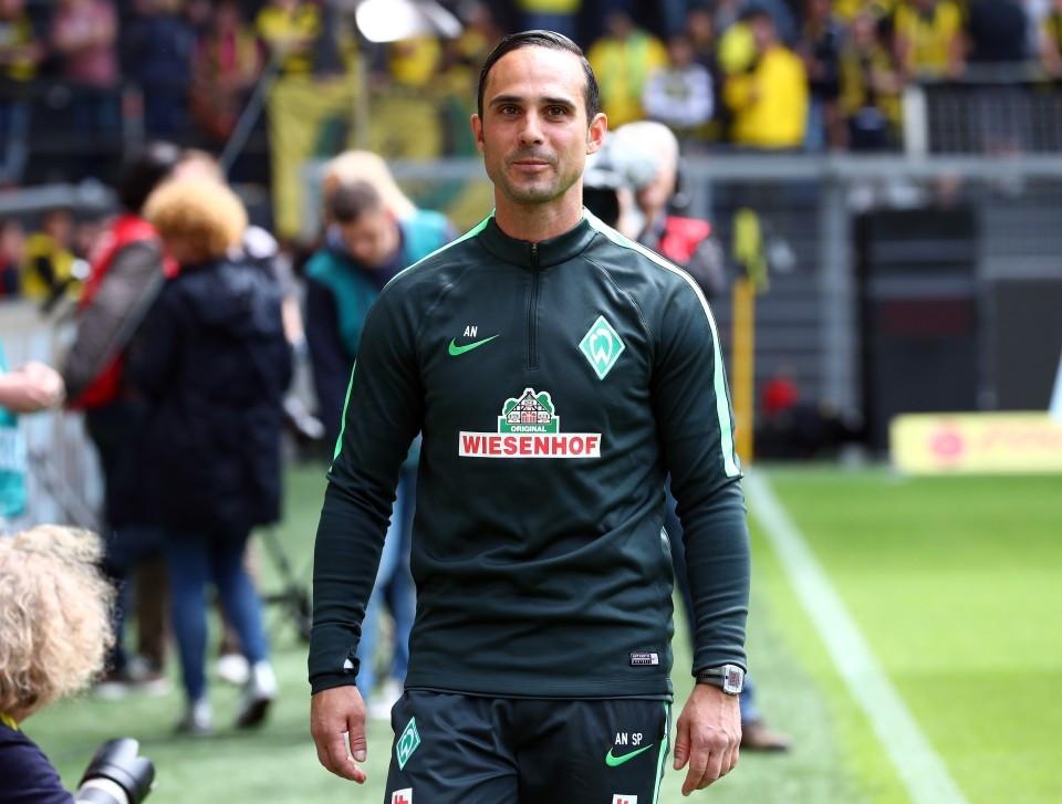 20162017, 1. Bundesliga, Fussball, Fußball, GER, 1.BL, 1. BL, Herren, Saison, Sport, football, Halbfigur, halbe Figur, Halbkoerper - BVB - Werder Bremen