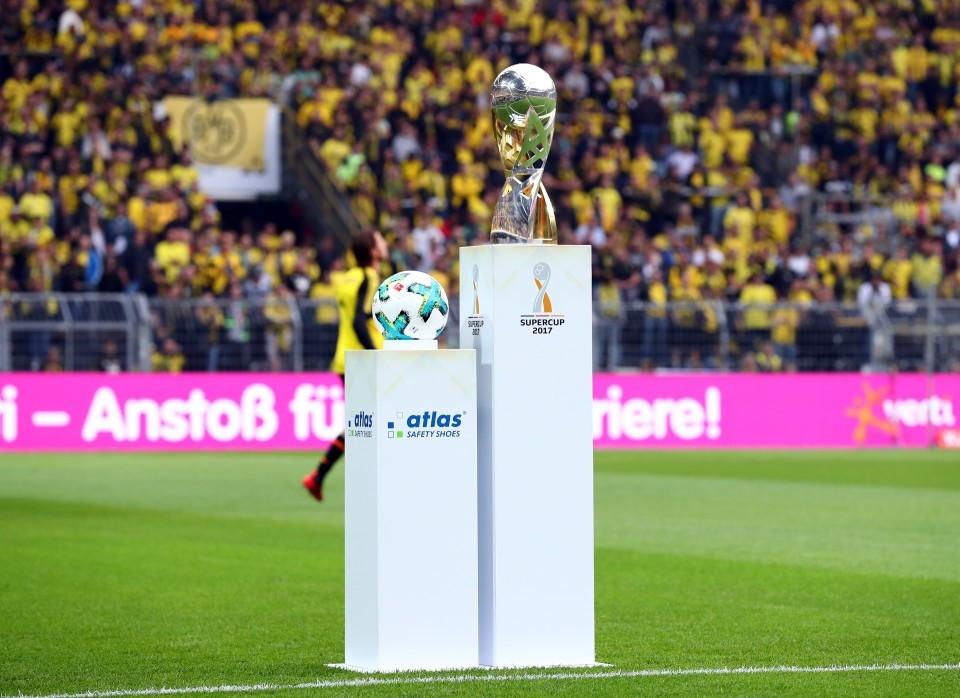 201718, 1. Bundesliga, Fussball, Fußball, GER, 1.BL, 1. BL, Herren, Saison, Sport, football - BVB - FC Bayern München (Supercup)