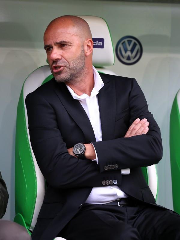 201718, 1. Bundesliga, Fussball, Fußball, GER, 1.BL, 1. BL, Herren, Saison, Sport, football, Halbfigur, halbe Figur, Halbkoerper - VfL Wolfsburg - BVB