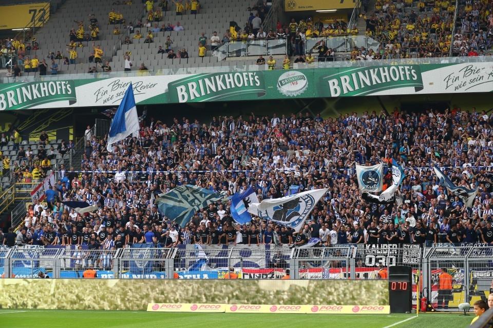 2. Spieltag, Hertha, Berlin, Berliner, Sportclub, BSC, Heimsieg, 1. Bundesliga, Saison 201718, Fußball, Borussia, Dortmund, BVB, 09 - BVB - Hertha BSC