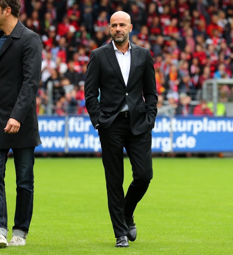 201718, 1. Bundesliga, Fussball, Fußball, GER, 1.BL, 1. BL, Herren, Saison, Sport, football, Freiburger, Sportclub, Halbfigur, halbe Figur, Halbkoerper - SC Freiburg - BVB
