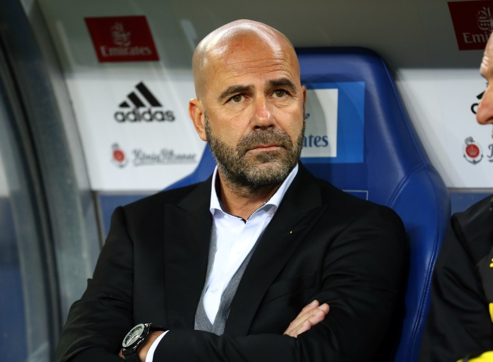 201718, 1. Bundesliga, Fussball, Fußball, GER, 1.BL, 1. BL, Herren, Saison, Sport, football, Halbfigur, halbe Figur, Halbkoerper - HSV - BVB