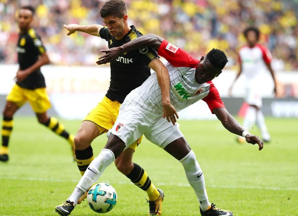 Das Rückspiel gegen Augsburg wird für Christian Pulisic & Co. erstmalig montags stattfinden