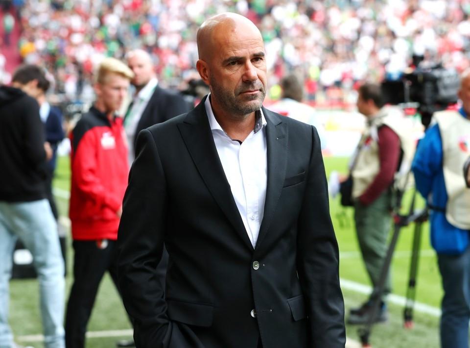 201718, 1. Bundesliga, Fussball, Fußball, GER, 1.BL, 1. BL, Herren, Saison, Sport, football, Halbfigur, halbe Figur, Halbkoerper - FC Augsburg - BVB