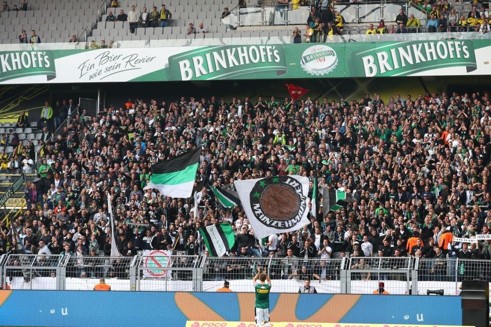6. Spieltag, Heimsieg, BMG, VfL, 1900, Mönchengladbach, Kantersieg, 1. Bundesliga, Hinrunde, Saison 201718, Fußball, Borussia, Dortmund, BVB, 09 - BVB - Borussia Mönchengladbach