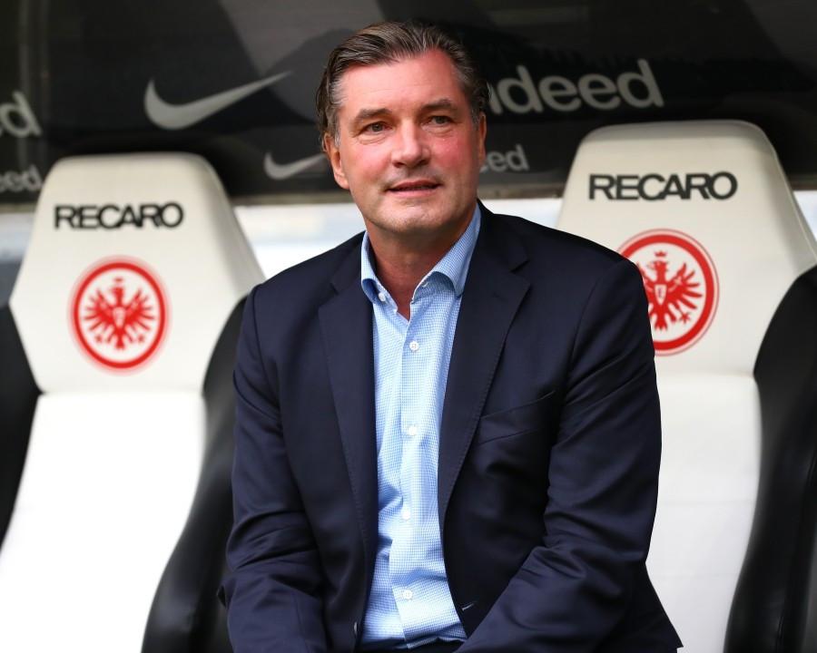 201718, 1. Bundesliga, Fussball, Fußball, GER, 1.BL, 1. BL, Herren, Saison, Sport, football, Halbfigur, halbe Figur, Halbkoerper - Eintracht Frankfurt - BVB