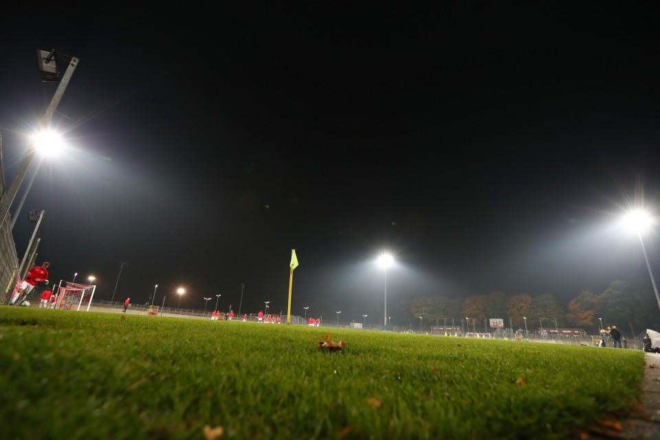20172018, Fussball, Fußball, Herren, Saison, Sport, football, Zweitvertretung, Reserve, 4. Liga, GER, NRW, U23, Amas, Amateure, Flutlicht, Gegengerade - Fortuna Düsseldorf II - BVB II