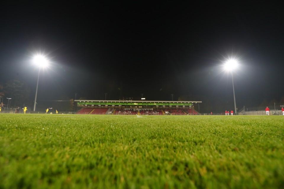 20172018, Fussball, Fußball, Herren, Saison, Sport, football, Zweitvertretung, Reserve, 4. Liga, GER, NRW, U23, Amas, Amateure, Flutlicht - Fortuna Düsseldorf II - BVB II
