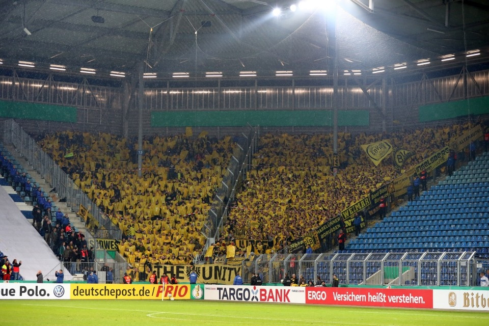 DFB, Pokal, DFB-Pokal, Vereinspokal, 1. FC, Magdeburg, Auswärtssieg, 2. Runde, Saison 201718, Fußball, Borussia, Dortmund, BVB, 09 - 1. FC Magdeburg - BVB