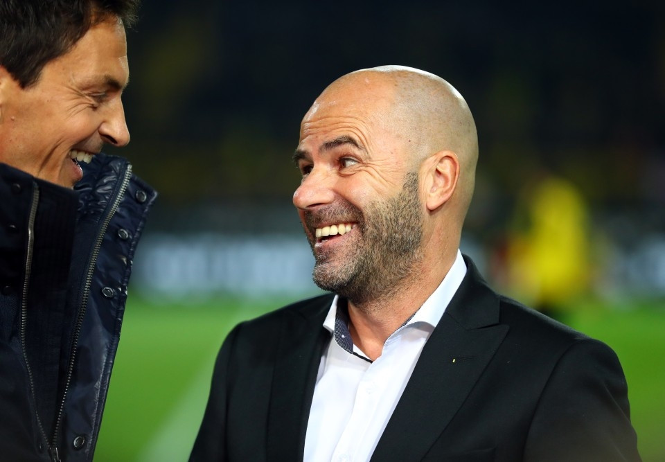 Peter Bosz, unser neuer Trainer seit Saisonbeginn
