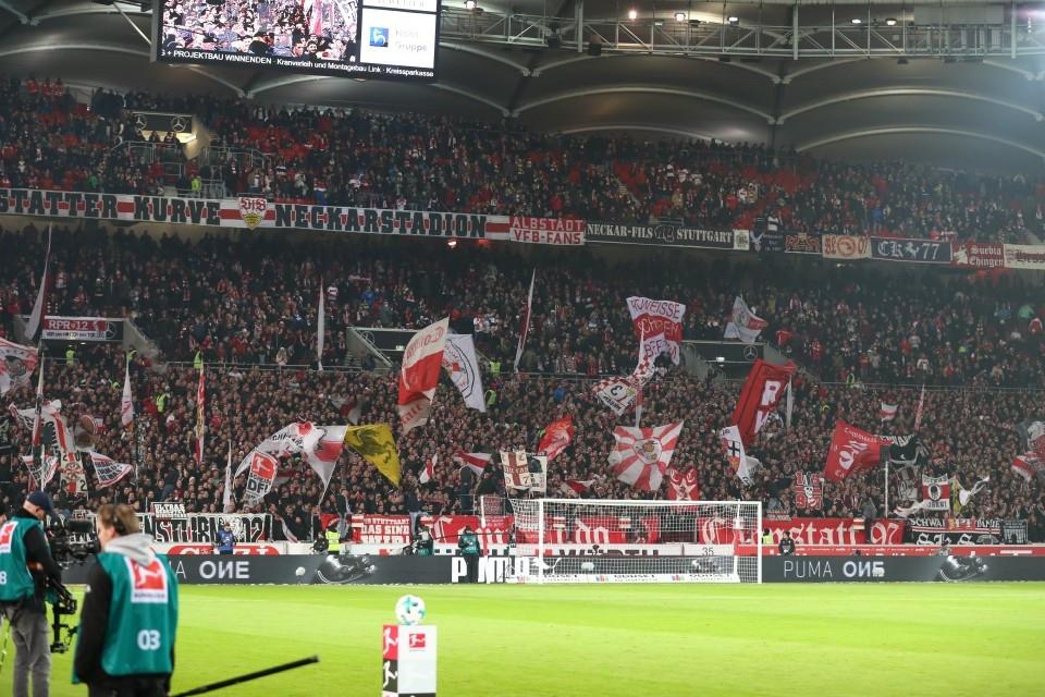 12. Spieltag, Auswärtsspiel, VfB, Stuttgart, 1893, Niederlage, 1. Bundesliga, Hinrunde, Saison 201718, Fußball, Borussia, Dortmund, BVB, 09 - VfB Stuttgart - BVB
