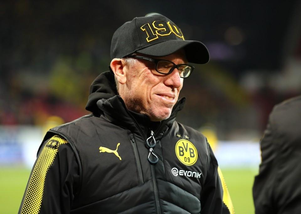 201718, 1. Bundesliga, Fussball, Fußball, GER, 1.BL, 1. BL, Herren, Saison, Sport, football, Halbfigur, halbe Figur, Halbkoerper - 1. FSV Mainz 05 - BVB