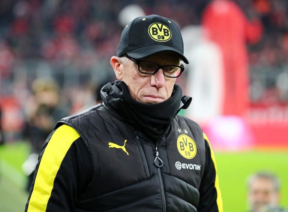 20172018, Vereinspokal, Cup, Fussball, Fußball, GER, Herren, Saison, Sport, football, Halbfigur, halbe Figur, Halbkoerper - FC Bayern München - BVB